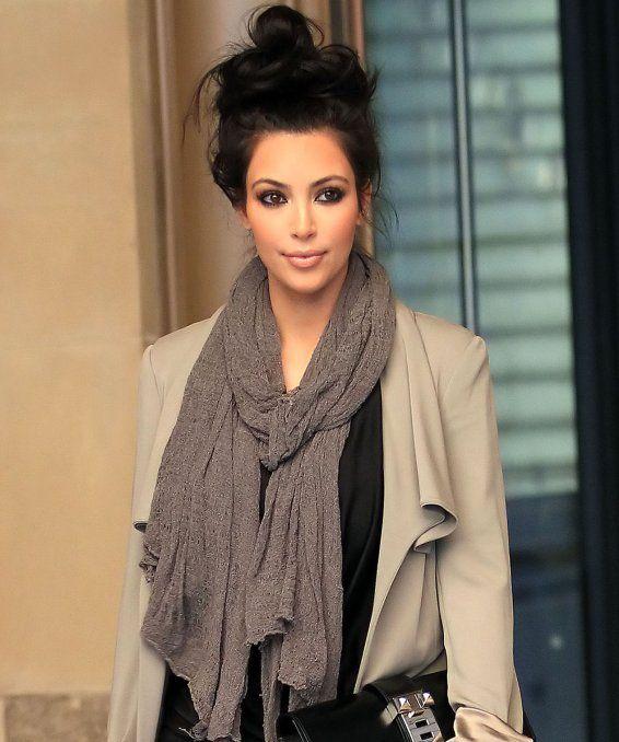 Kim Kardashian conhecida como atriz
