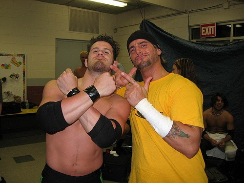 Alex Shelley and CM Punk