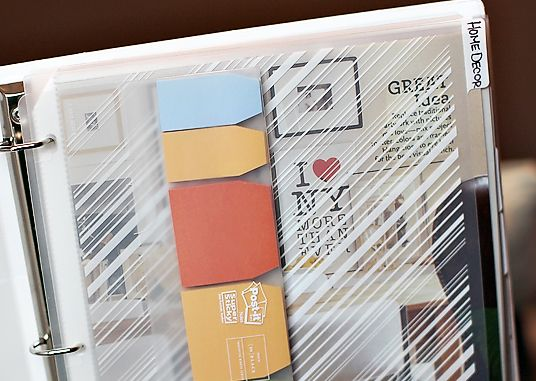 92 best Binder Home Decorating images on Pinterest Journal