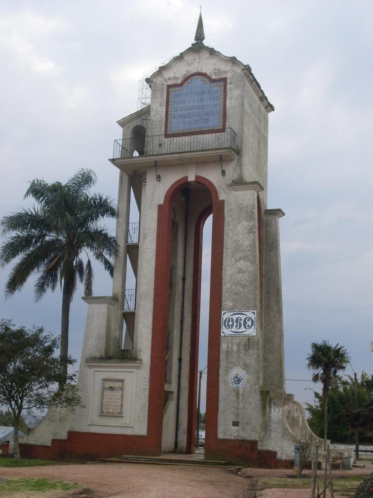 Antigua torre de agua del Pueblo Alejandro Gallinal (ex Cerro Colorado), Departamento de Florida.