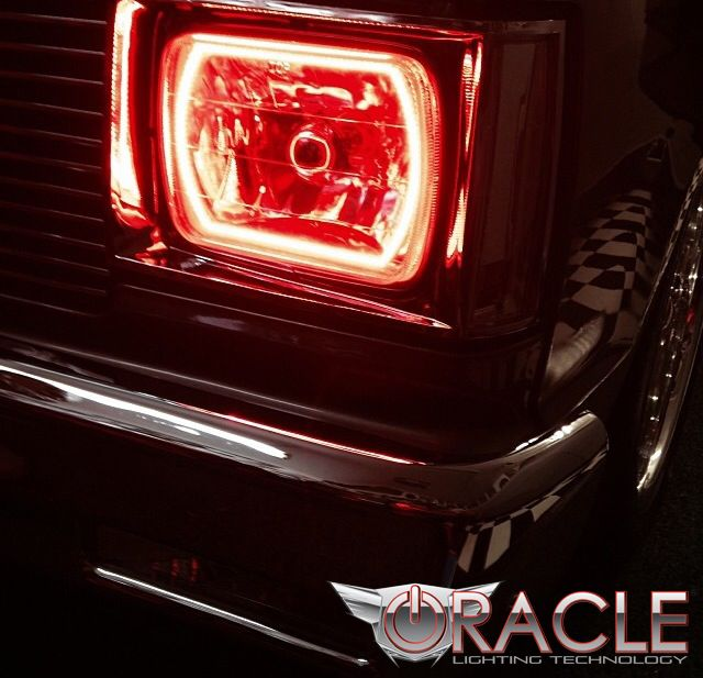 "Mazda Sized! Custom Industries — 7x6"" Sealed Beam Headlight"