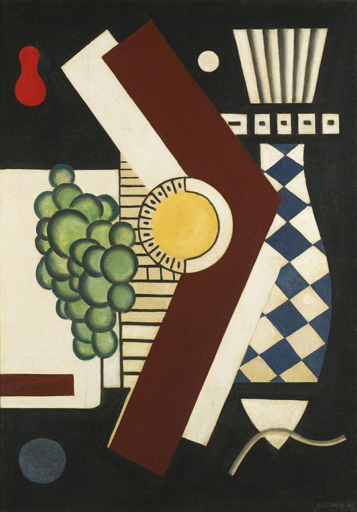 FERNAND LÉGER (1881 - 1955) GRAPPE ET POISSON 1927