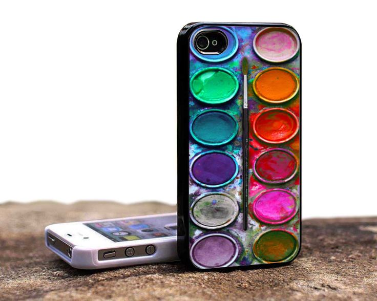 watercolor set phone case. Iphone 5 case. by ANikisins on Etsy, $14.69