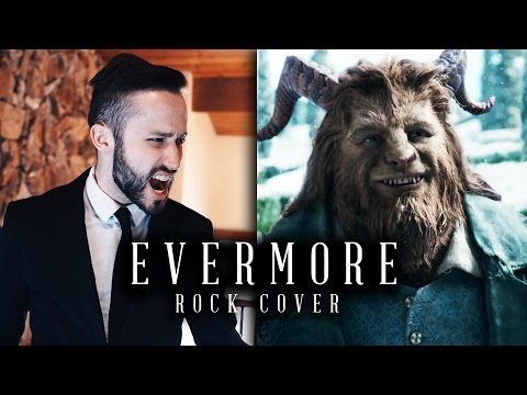EVERMORE (Beauty & the Beast) - Disney Rock cover by Jonathan Young - YouTube