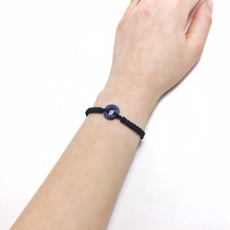 [폴리머클레이] 폴리머클레이와 매듭공예로 팔찌만들기! : 네이버 블로그  Polymer clay macrame bracelet Polymer clay jewelry, polymer clay beads