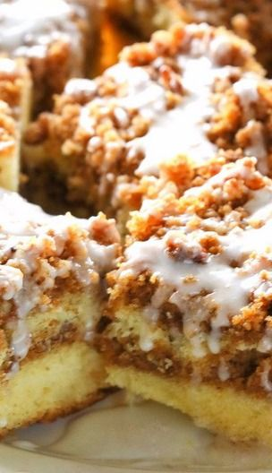 Graham Streusel Coffee Cake - The Girl Who Ate Everything
