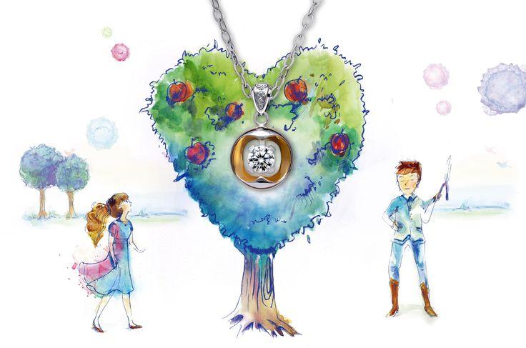 Apple heart   / VOSHAS DESIGN  Http://goo.gl/7kvoNA