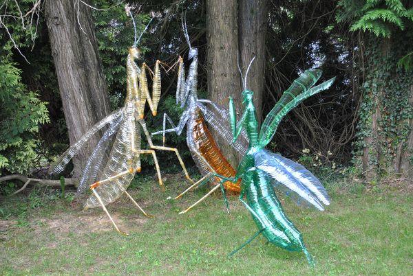 Danilo Marchi Galleria Marelia Bergamo -  Artist uses recycled PET