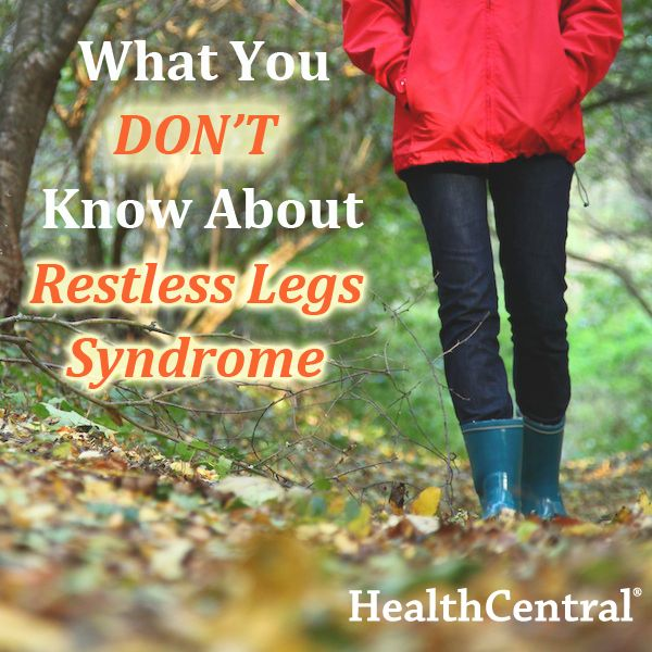 8 facts about restless legs syndrome (RLS) you may have never heard.