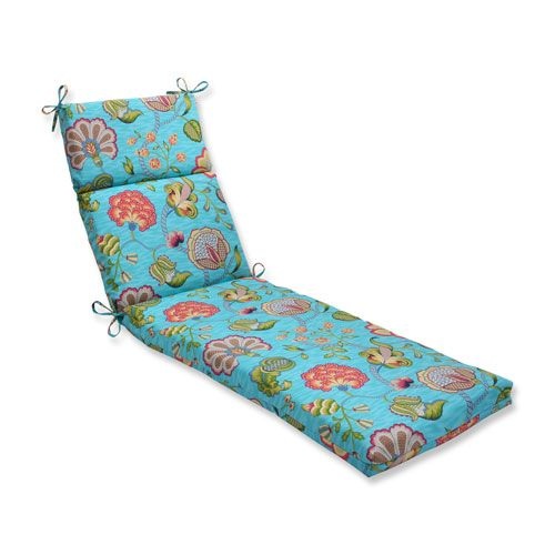 25 best ideas about lounge cushions on pinterest for Blue outdoor chaise lounge