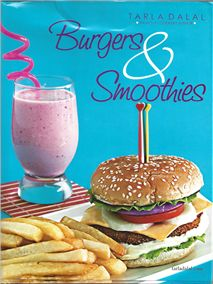 #book #cookerybook #burger #smoothies #English Burgers & Smoothies - English