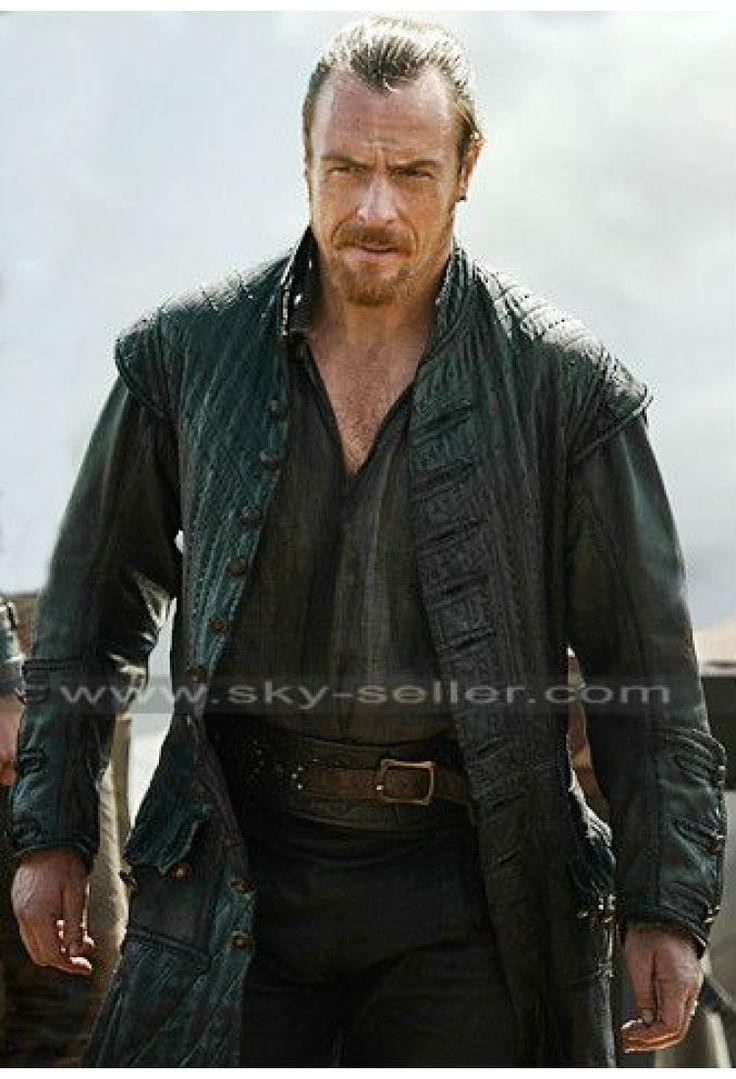 Black sails s3 pirate captain flint leather coat -  Black_sails_coat James_flint_coat James_mcgraw_coat Toby_stephens_coat Leather_coat Black_coat Caribbean_captain_coat Black_sails_s3