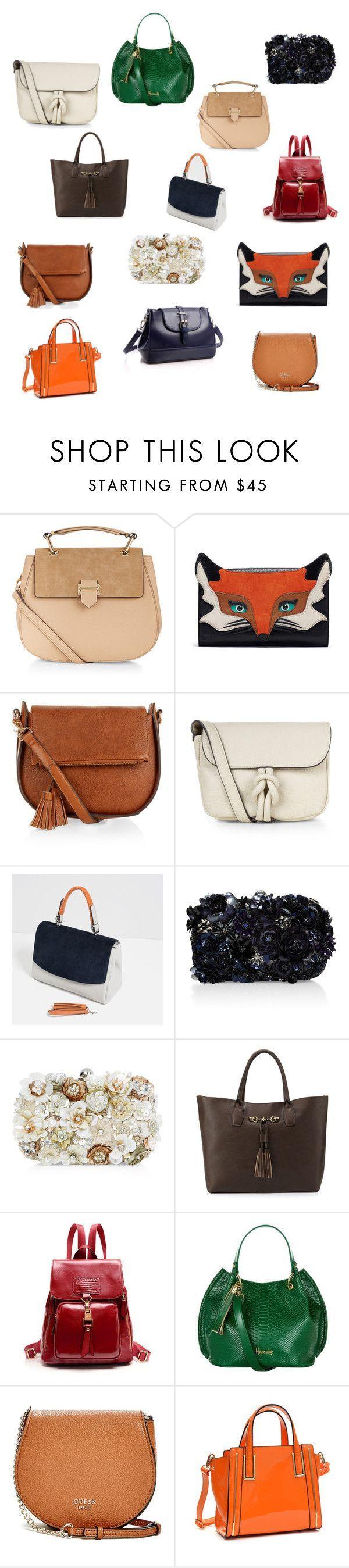 """Classy affordable handbags under $100.00!!!!"" by preppypinkgreen ❤ liked on Polyvore featuring Accessorize, Monsoon, Zara, Neiman Marcus, Harrods, GUESS, Dasein, women's clothing, women and female - handbags for women on sale, shop handbags online, big handbags *sponsored https://www.pinterest.com/purses_handbags/ https://www.pinterest.com/explore/handbag/ https://www.pinterest.com/purses_handbags/radley-handbags/ http://www.polyvore.com/handbags/shop?category_id=318"