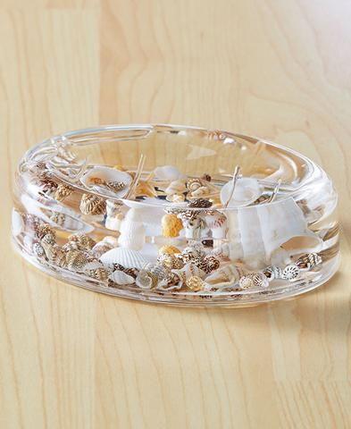 Make Photo Gallery Coastal Seashell Bathroom Soap Dish