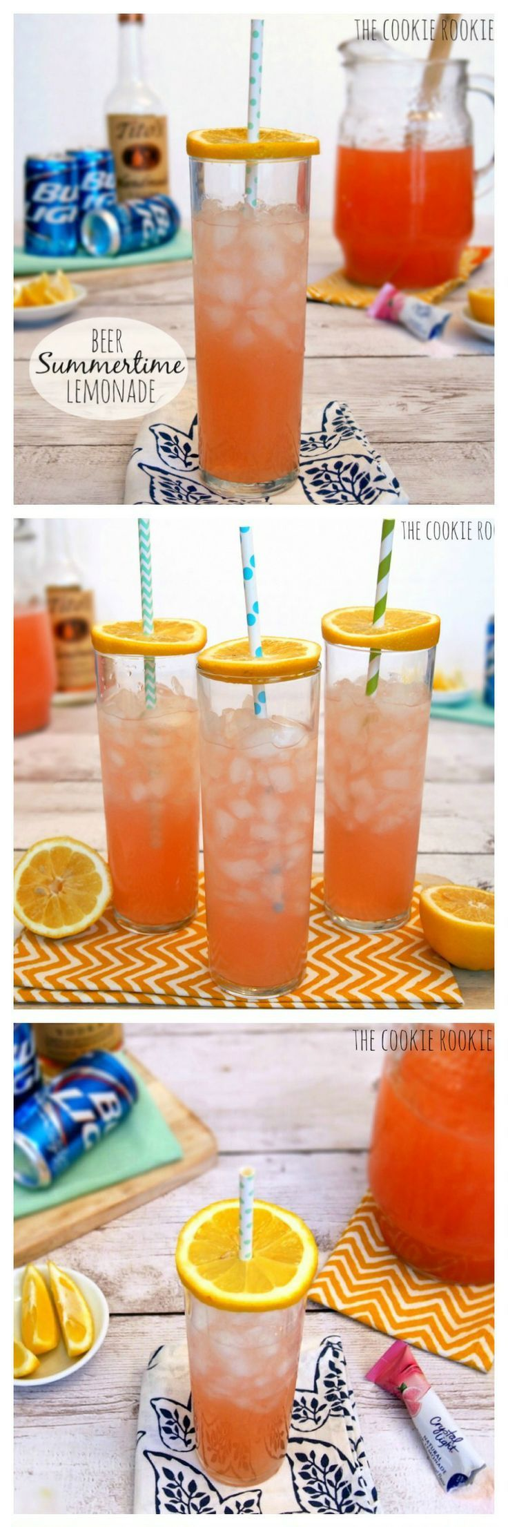 Pink Summer Shandy - omg delicious!