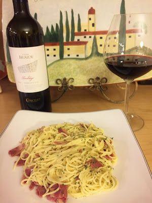 Journey to Trentino with Vigna Braide Geroldego Rotaliano paired with Spaghetti alla Carbonara