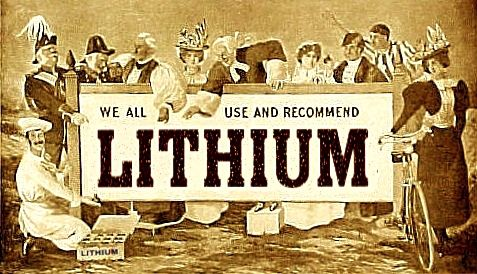 My trials and tribulations with lithium.