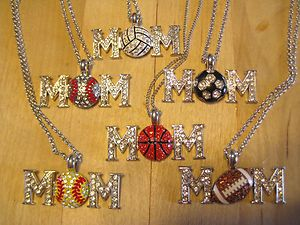 Love these mom sport  necklaces. :)