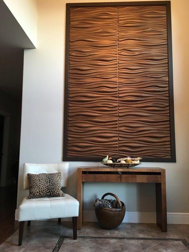 3D-72 Plant Fiber Wall Panels – Talissa Decor – Wall Panels