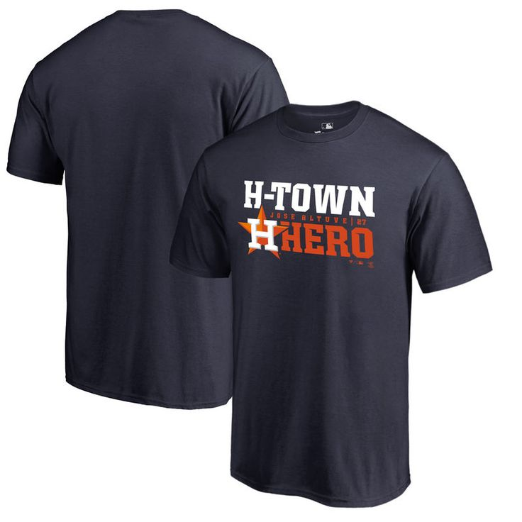 Jose Altuve Houston Astros Fanatics Branded Player Hometown Collection Big & Tall T-Shirt - Navy