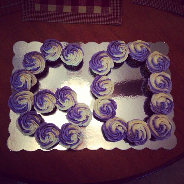 Best 25+ 60th Birthday Cupcakes Ideas On Pinterest