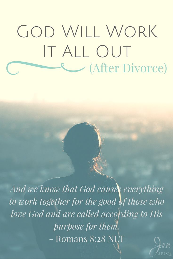 God Will Work It All Out (After Divorce) Funny dating
