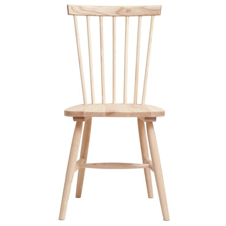 Wood pinnestol H17, ask i gruppen Møbler / Stoler / Stoler hos ROOM21.no (1025123)