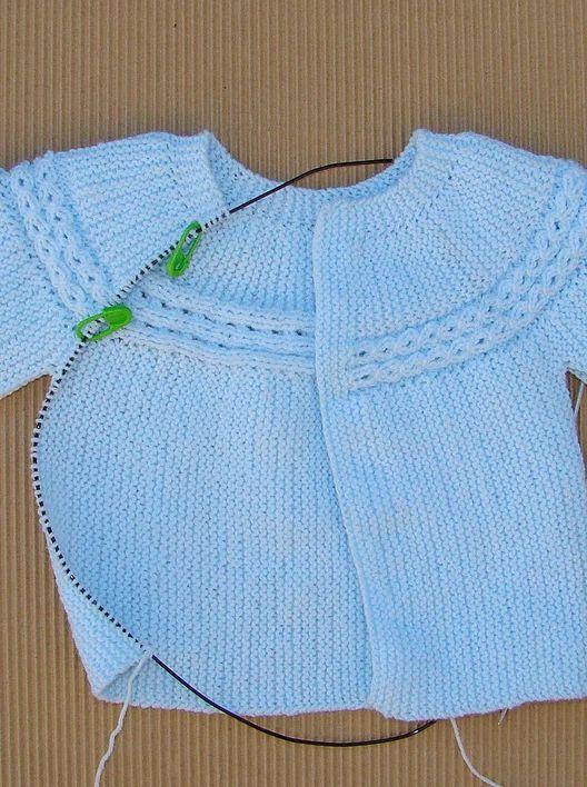 Tutorial e instrucciones para hacer el jersey de la - Como hacer un jersey de punto ...