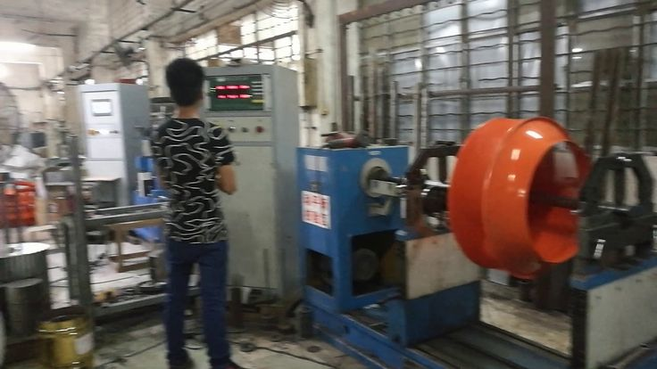 How do we test the balance of the centrifugal fan wheel?