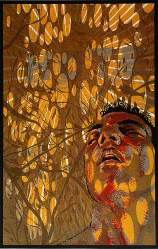 Miguel Angel Reyes, Born: 1964 Colima, Mexico, Glare, Serigraph, 17 x 11 inches, 2009