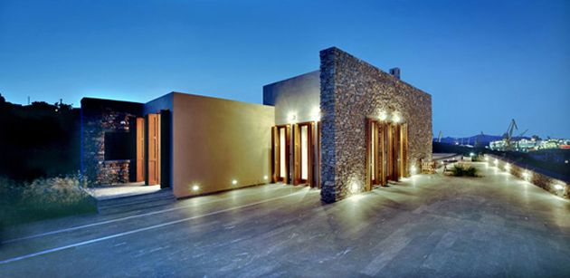 Vacation house on Syros Island, Greece, Katerina Valsamaki | ArchiTravel, http://katerinavalsamaki.gr/