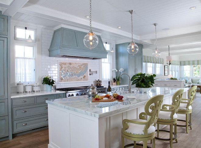 17 Best images about Beautiful Non White Kitchens on