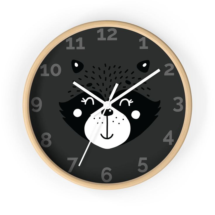 Excited to share the latest addition to my #etsy shop: Wooden Wall Clock/ Wall Clock Decor/ Unique Wall Clock/ Clock For Baby Room/ Clock For Kids Room/ Modern Nursery Clock/ Decorative Clock http://etsy.me/2F4Odtu #housewares #clock #housewarming #bedroom #woodenwallc