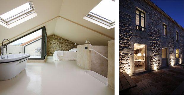 ristrutturazione casa in pietra-Dom Arquitectura