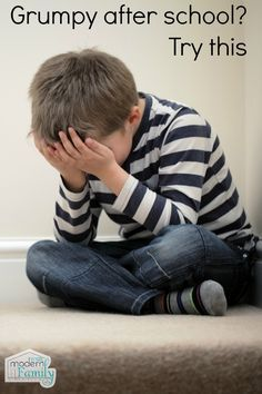 Stopping afterschool meltdowns - Your Modern Family