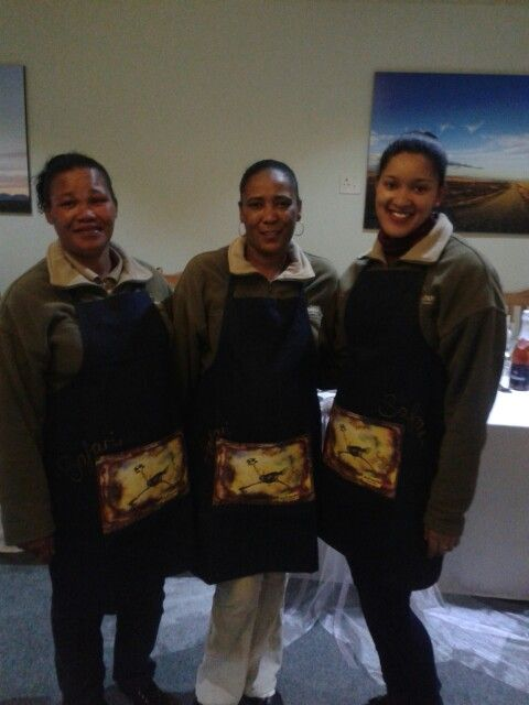 Safari's friendly service staff ready to welcome guest