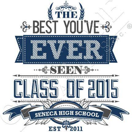 Graystone Graphics Inc. Senior Class Shirt Design