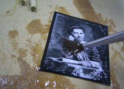 How To Transfer Image Using Liquid Polymer Gel Printed