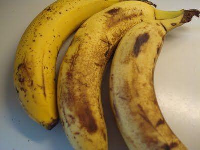 fedtfattige bananmuffins med havregryn - Loui&Bearnaisen