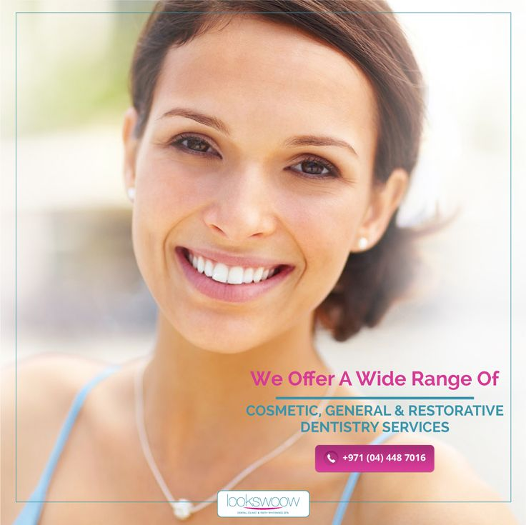 Whether you wish to revitalize your smile with porcelain veneers, straighten your teeth with Dental Braces, or receive superb periodontal disease treatment, you can expect unparalleled results for healthy teeth and gums. Learn more about our wide range of cosmetic, general, and restorative dentistry services we offer!   #Lookswoow #Dentaloffers #smile #health #dentaldubai #dubaidental #dubailife #dubai #trends #happy #amazing #friends #instagood #love #fun #summer #beautiful #instamood…