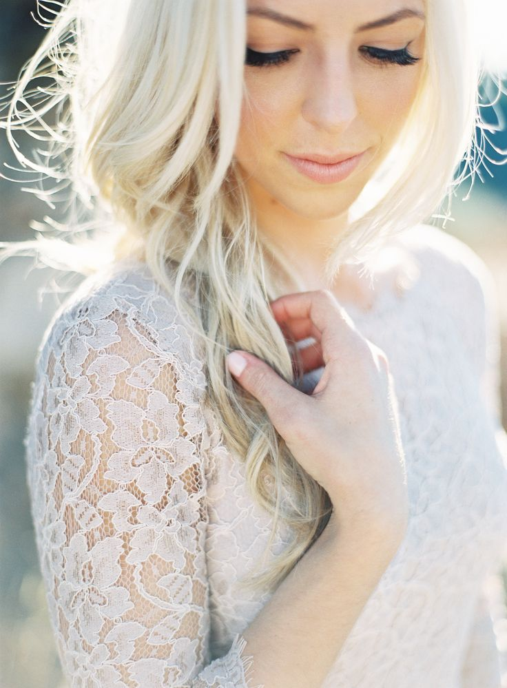 California Wine Country Engagement Shoot| Beauty by TEAM Hair and Makeup. See more on Style Me Pretty:  http://www.StyleMePretty.com/2014/02/27/california-wine-country-engagement-shoot/ Patrick Moyer Photography