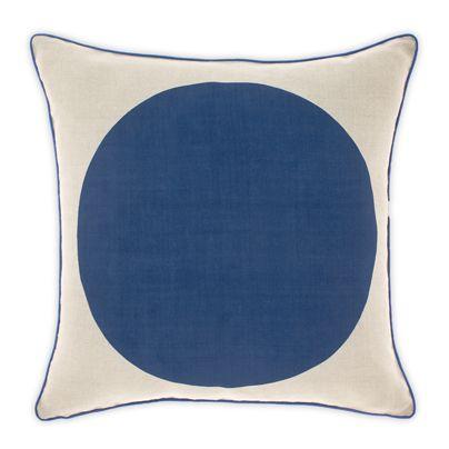 Big Spot cushion in Marine 50cm