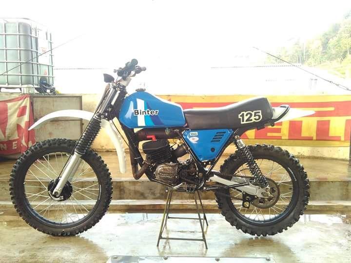 Lapak Trail Jadul KE125 Kawasaki - BANDUNG - LAPAK MOBIL DAN MOTOR BEKAS