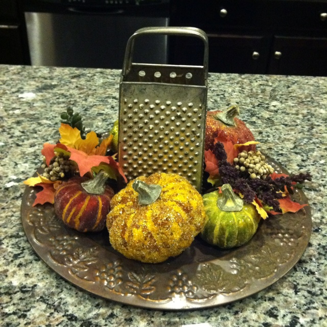 Homemade Fall/Thanksgiving Decoration