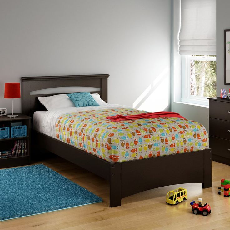 south shore libra twin panel bed from