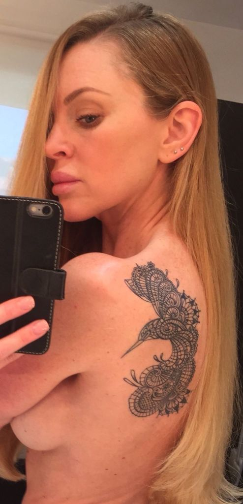 My lace bird shoulder tattoo! Marco Manzo! Loves