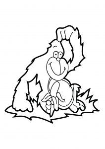 free-animals-gorilla-printable-coloring-pages-for-children