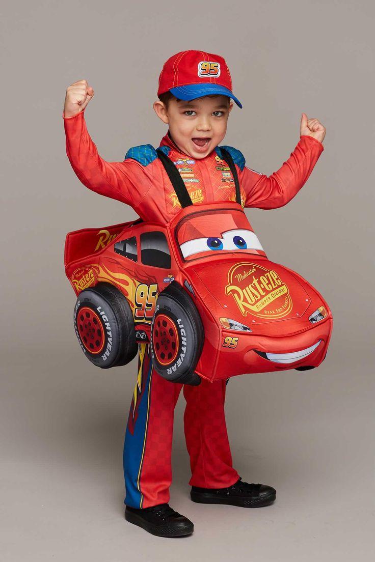 Cars 3 Lightning McQueen Costume for Kids: #Chasingfireflies $89.00