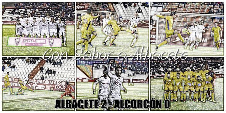 EL SABOR DULCE DE LA VICTORIA SUFRIDA; ALBACETE 2 - ALCORCÓN 0  Albacete Balompié Alcorcón Carlos Belmonte Crónica fútbol Fútbol LaLiga 123 Temporada 2017/18