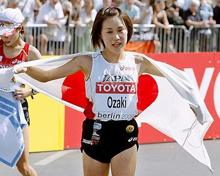 2009年8月 世界陸上ベルリン大会 2位 2時間25分25秒